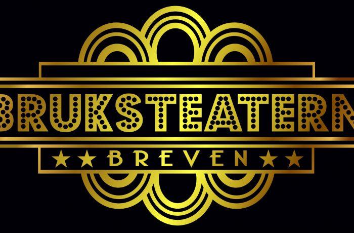 Bruksteatern, logo, guld på svart, -jpg